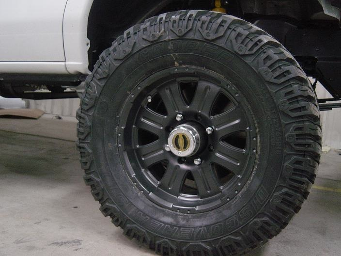 E Rated Tires 65  R18  E rated  mounted