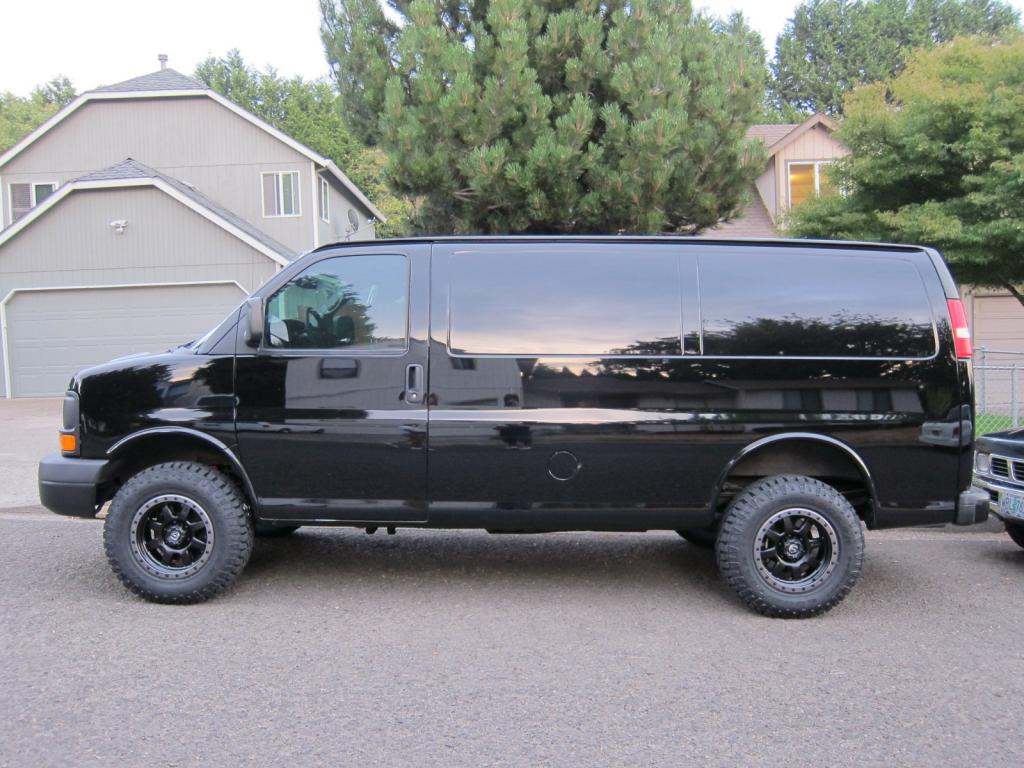 All Chevy 2014 chevy express : My First van build Progress! 2010 Chevy Express AWD - Sportsmobile ...