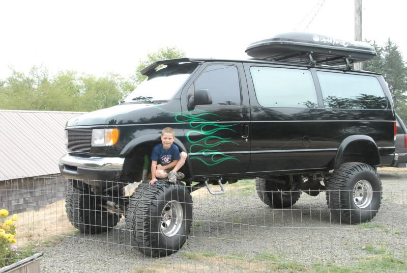 Quigley Van For Sale >> FORD E-350 4x4 VAN:::...:::CUSTOM LIFTED:::... - $23,000 - Sportsmobile Forum