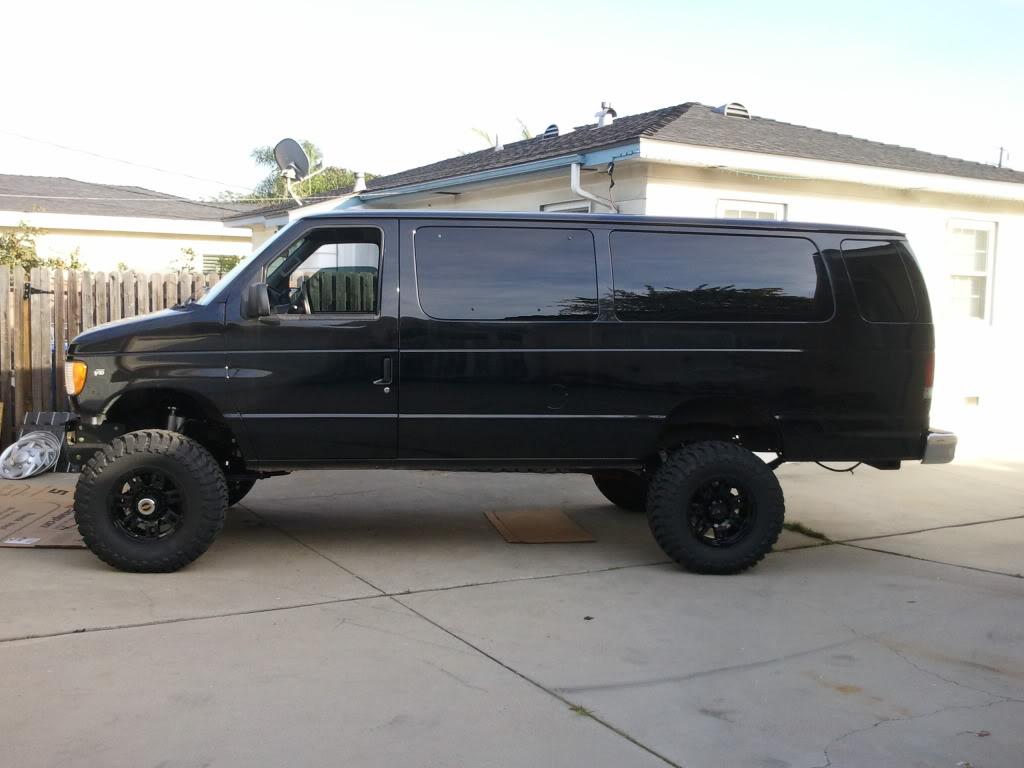 Black Van W Black Wheel Pic Sportsmobile Forum