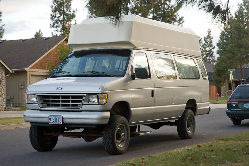sold 1992 e350 eb 4x4 high top for sale oregon sportsmobile forum. Black Bedroom Furniture Sets. Home Design Ideas