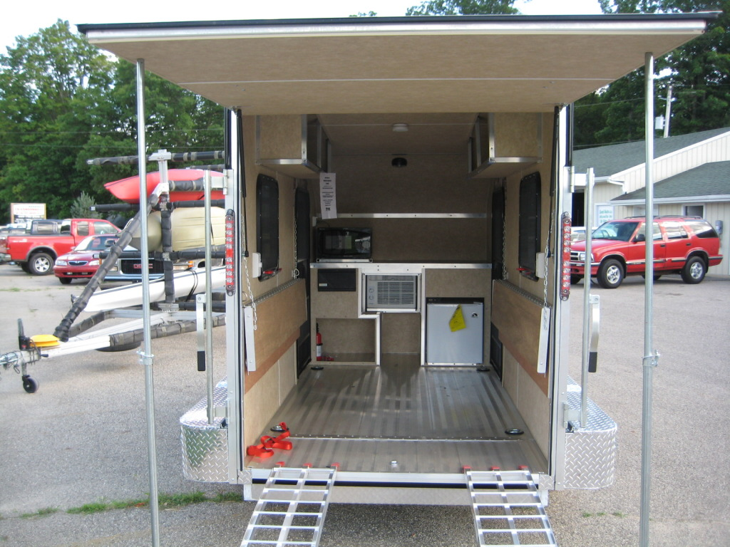 Teardrops N Tiny Travel Trailers View Topic Ramp Door Flip Up Awning