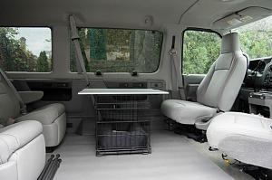 FORD VAN ECONOLINE SEAT DRIVER BRACKET BASE