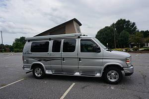 For Sale PleasureWay Traverse poptop Ford E150 camper - Sportsmobile