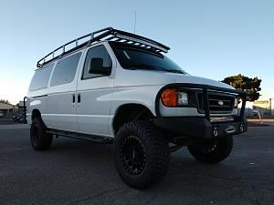 Ford van aluminum roof rack.jpg