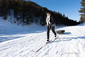 _DSC1593 Bethanie Walder on skis and pulls the sled, Yellowstone National Park, Wyoming, USA-2.jpg