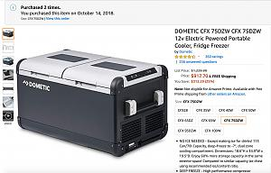 Amazon.com: DOMETIC CFX 75DZW CFX 75DZW 12v Electric Powered Portable Cooler, Fridge Freezer: Au.jpg
