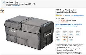 Amazon.com: Dometic CFX-IC75 CFX-75 Insulated Protective Cover: Automotive 2019-12-27 19-28-52.jpg