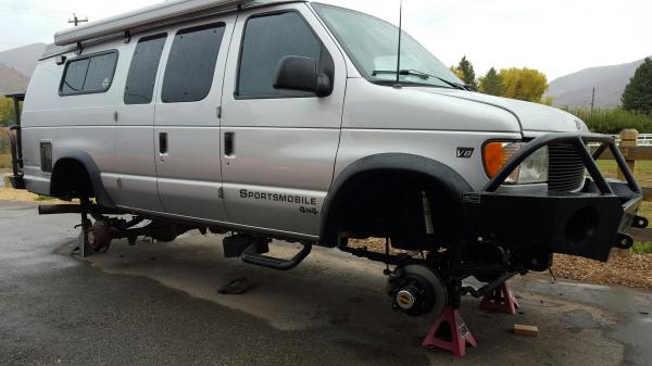 Agnes 2002 Ford E350 7 3l Psd Ujoint 4x4 Sportsmobile