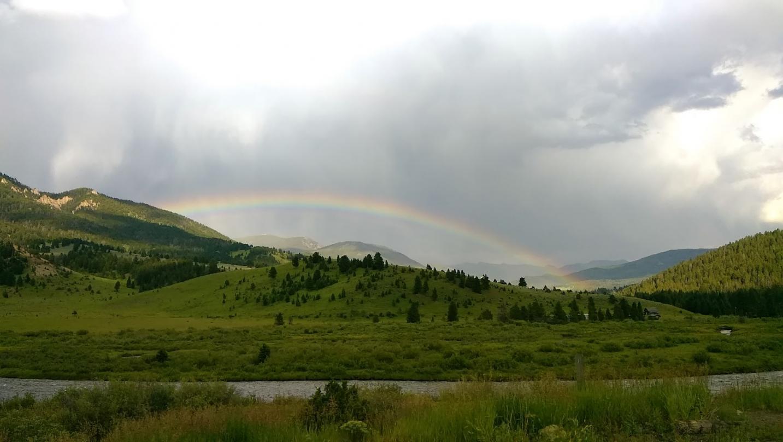 Galletin rainbow