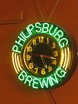 Pburg Brew sign