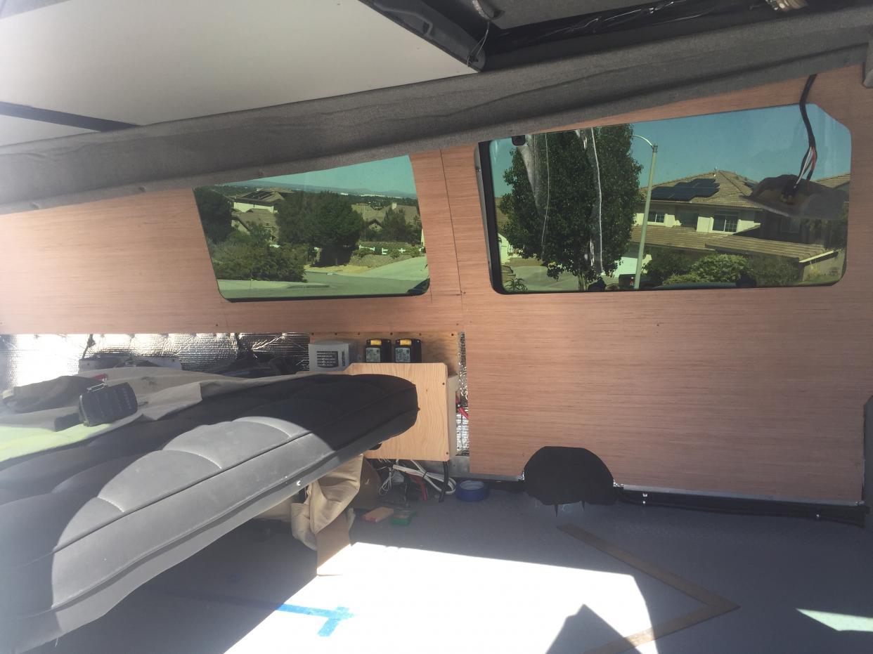 Fitting interior panels