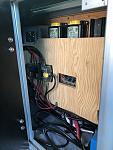 Inside the Cabinet Door, Electrical Panel