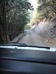 Big Rock Creek Road From Vincent Gap