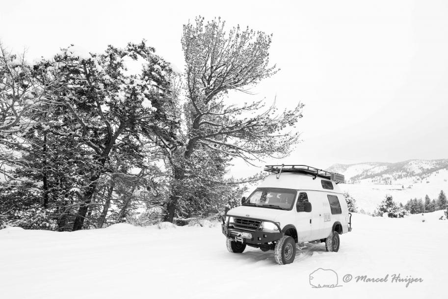 DSC8397 Winter camping trip, Yellowstone National Park, Wyoming, USA