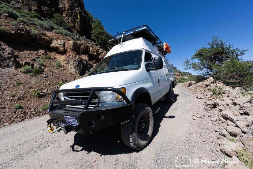 DSC3657 Camper van on Steens Mountain Loop Road, Oregon 2