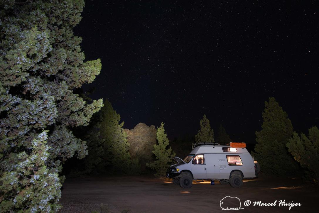 DSC4174 Camper van near Painted Hills, John Day Fossil Beds, Oregon  2