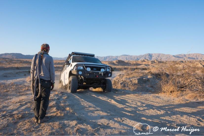 DSC1875 4x4 recovery course with Bill Burke, Anza Borrego Desert State Park, California, USA