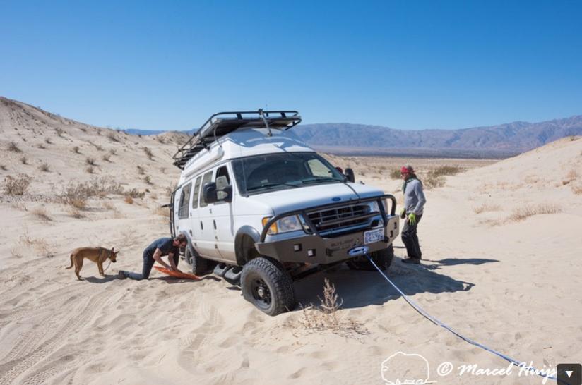 DSC2149 4x4 recovery course with Bill Burke, Anza Borrego Desert State Park, California, USA
