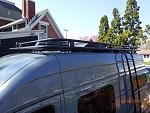 Roof rack and ultra low profile Coleman Mach roof AC