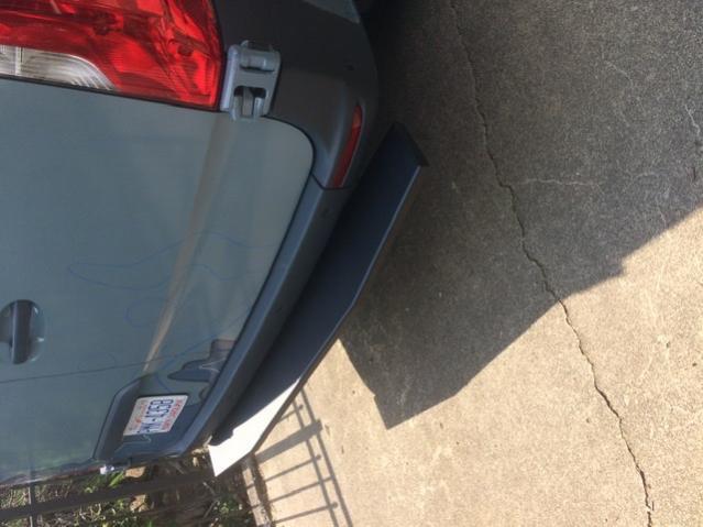 Van Compass rear step bumper