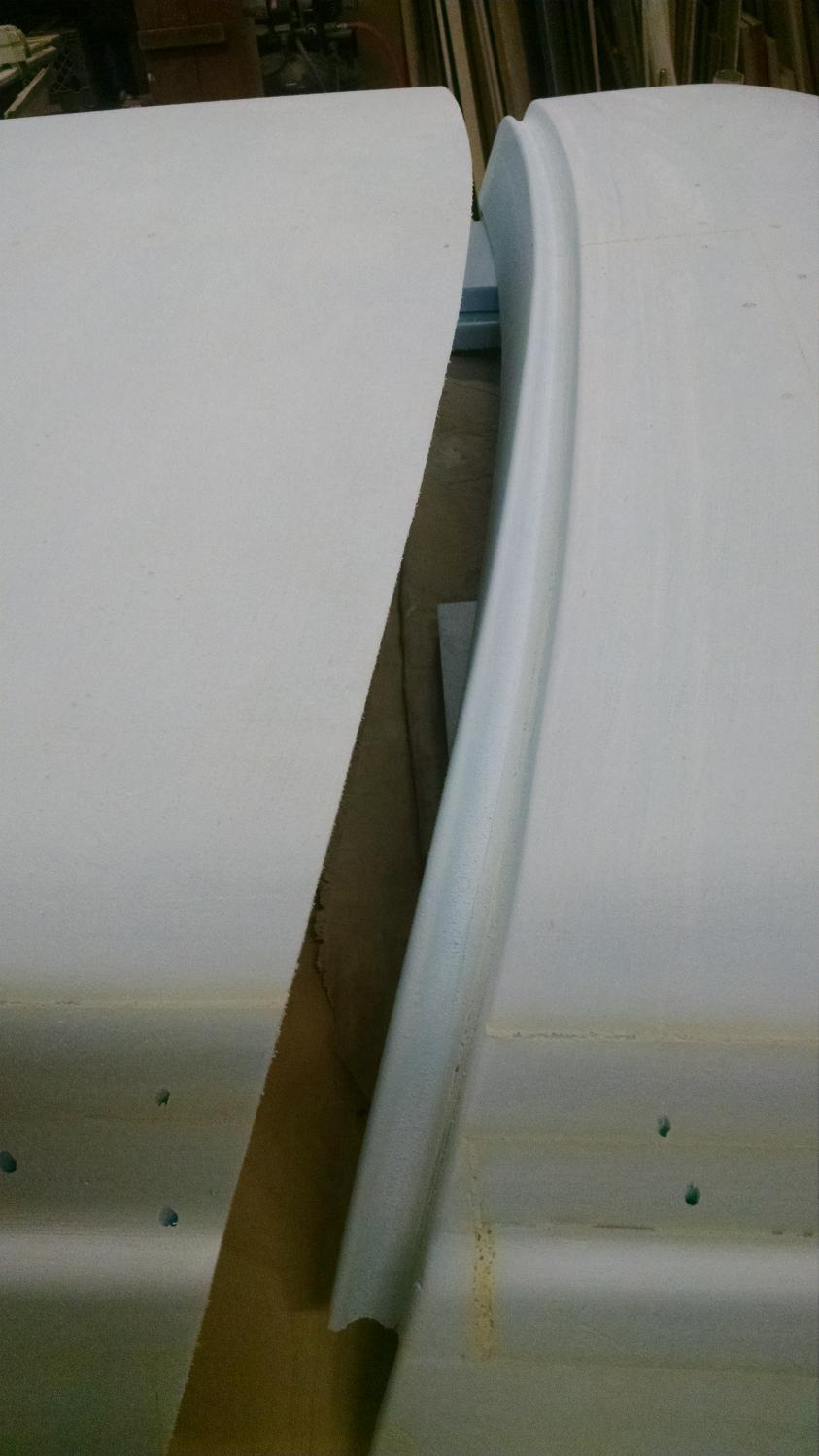 17.5) fairing with drain channel added