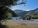 Vancouver Island camping.