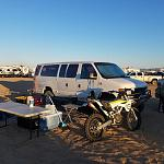 dunes camping prior to roof install. October 2018