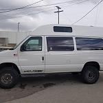 """new 20"""" roof just installed on the van. May 2019"""