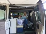 The Wife and Granddaughter love the van