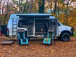 Camp Setup (no fires allowed)