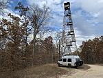 One of two Fire Towers left in the Land Between the Lakes National Forest.
