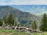 View into Idaho's side of Hells Canyon