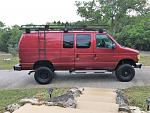 Big Red Ford E350 4x4