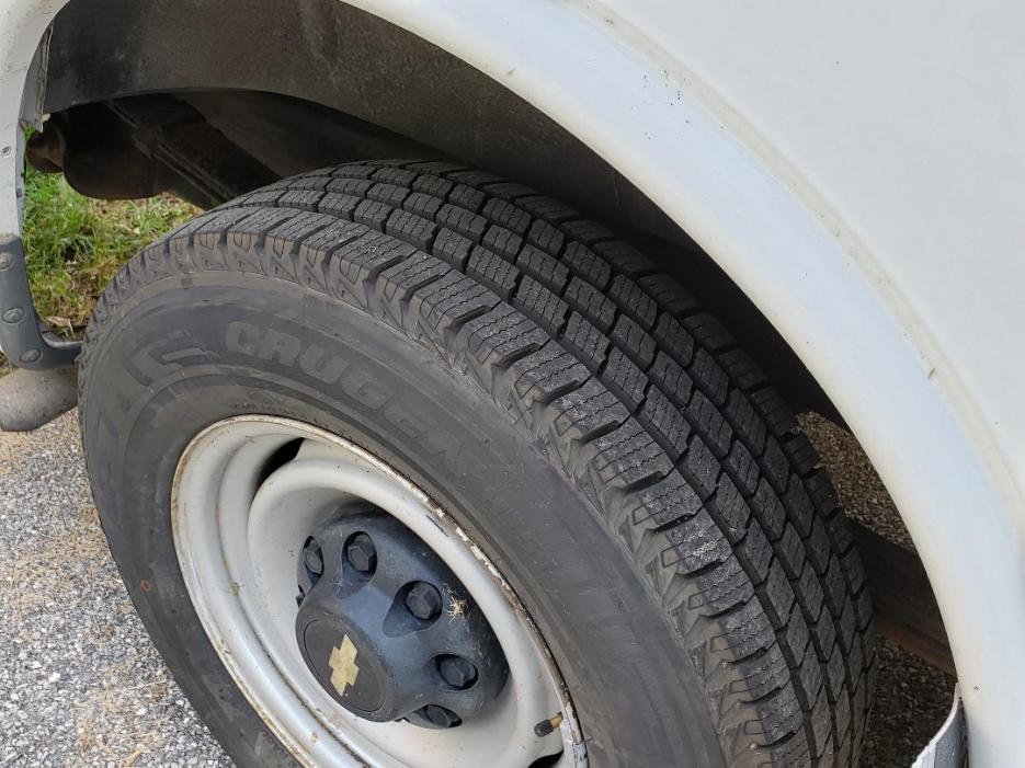 Passenger rear tire