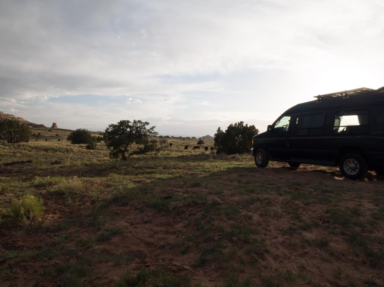 Outside of Arches NP