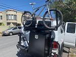 GTRV new bike rack