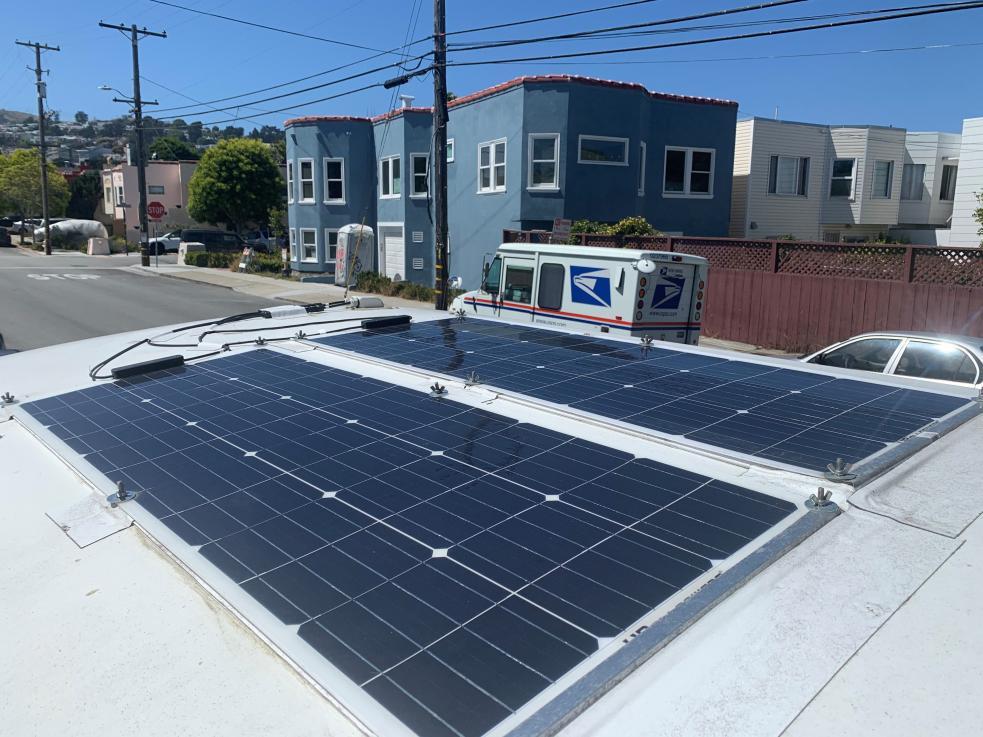 GTRV Solar -2 X 100W