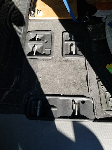2011 Honda Odyssey Seat Mount