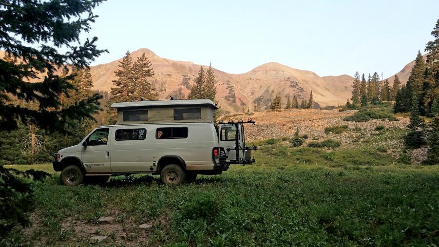 Basin camping