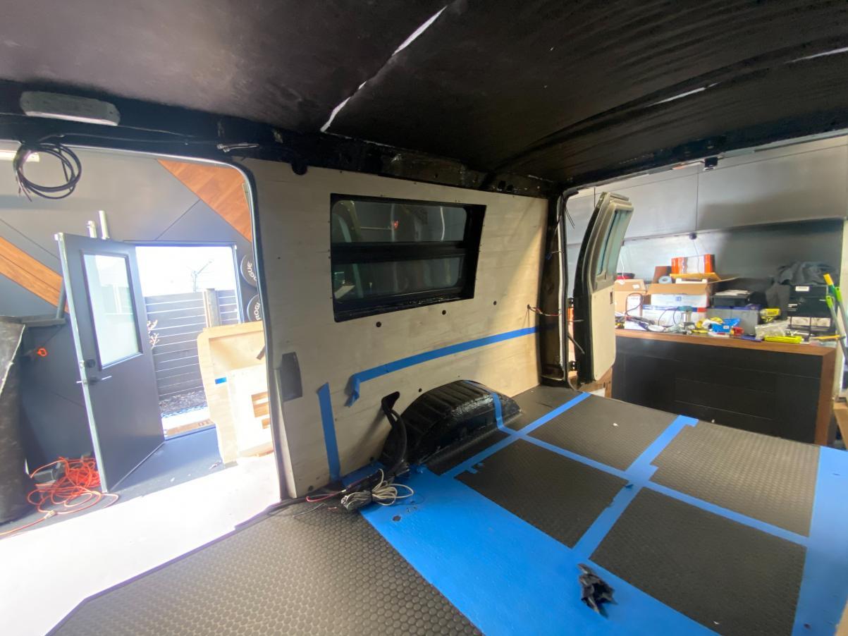 Passenger Side Wire Passthrough Test
