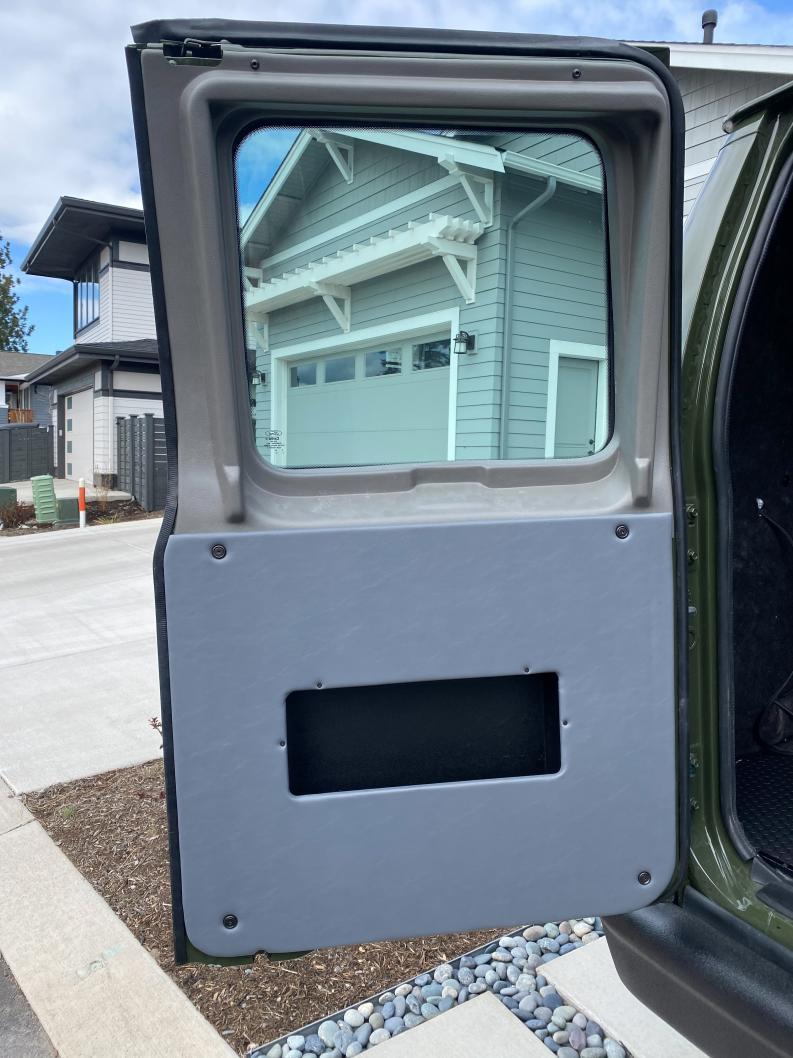 Second Rear Door Upholstered Panel