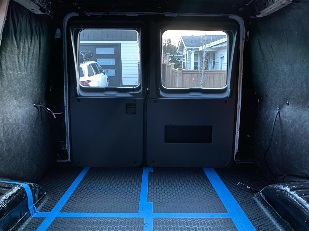 Rear Doors Upholstered