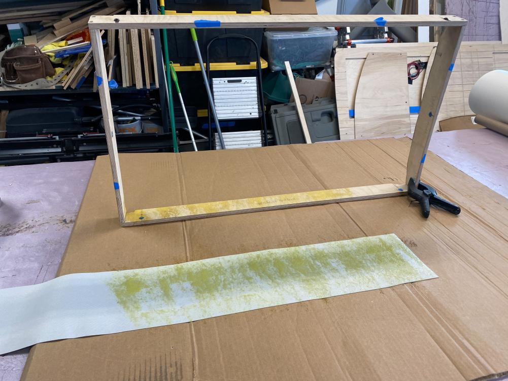 Window Box Upholstery Prep