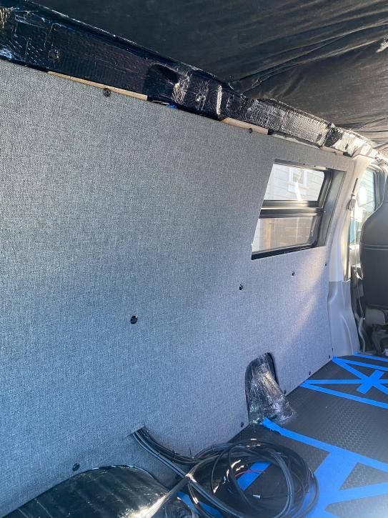 Upholstered Driver Side Panel 1