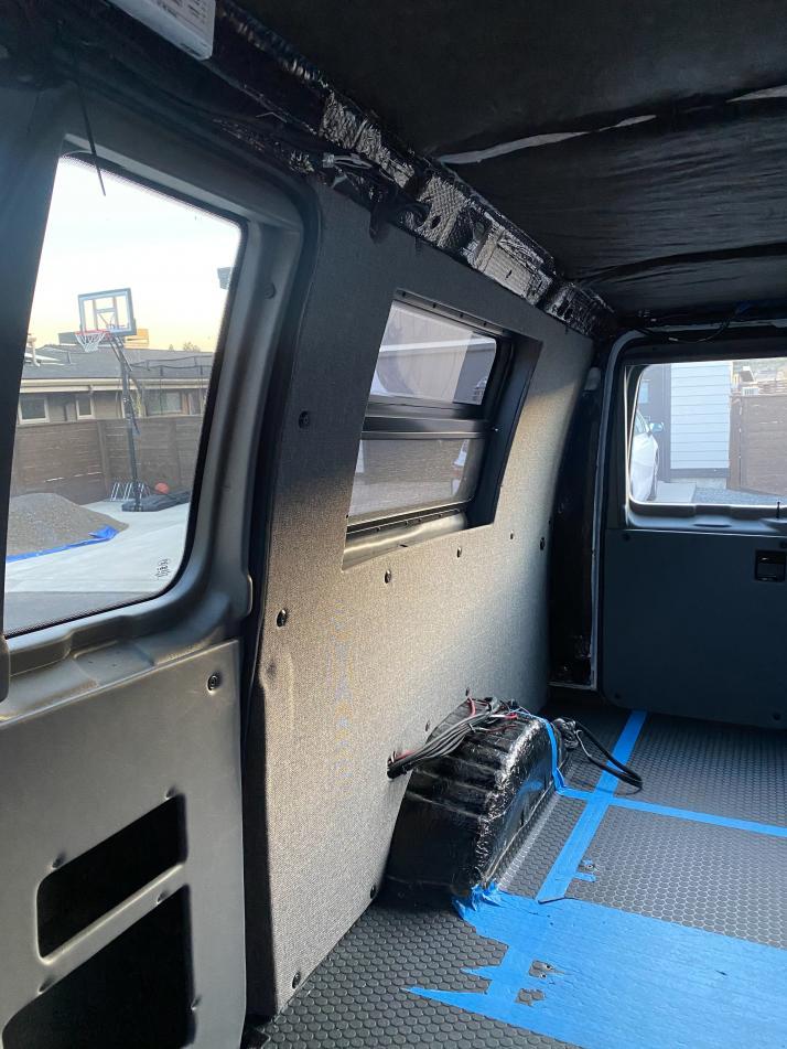 Upholstered Passenger Side Panel