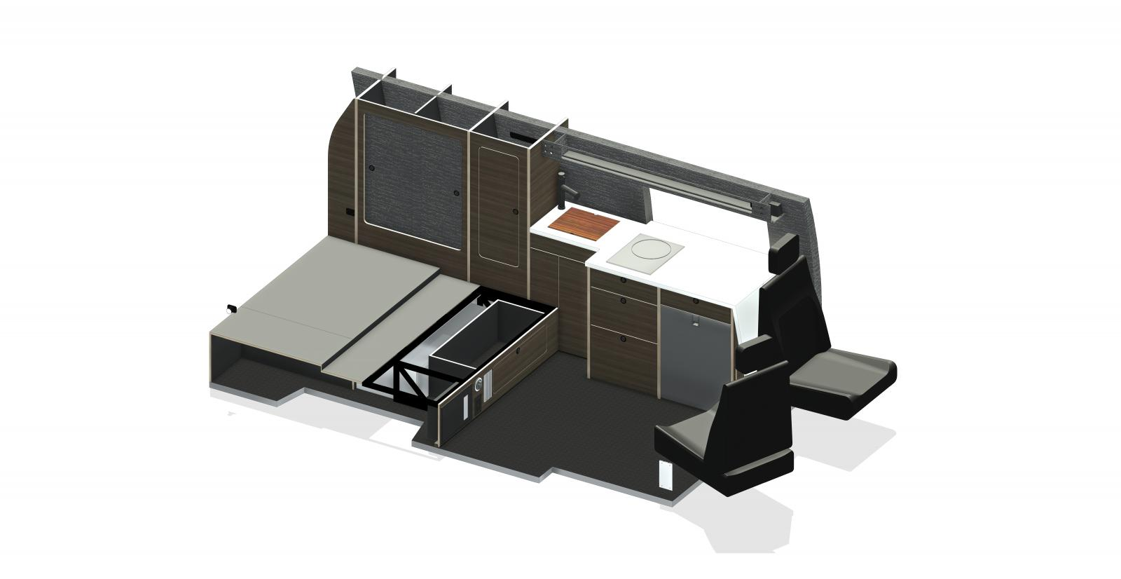 Layout ISO 1 (No Seat)