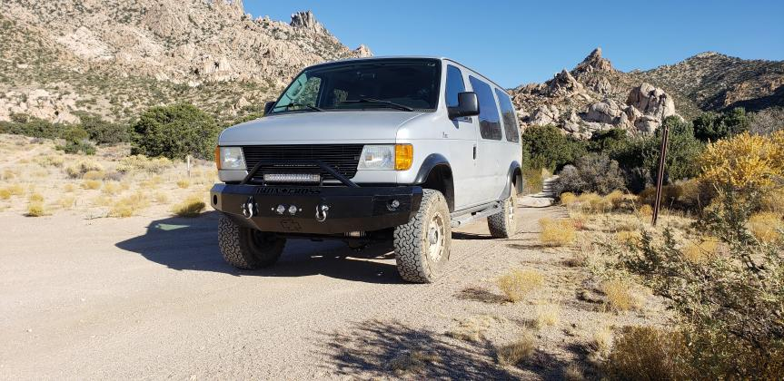 Mohave Preserve, Carruthers Canyon