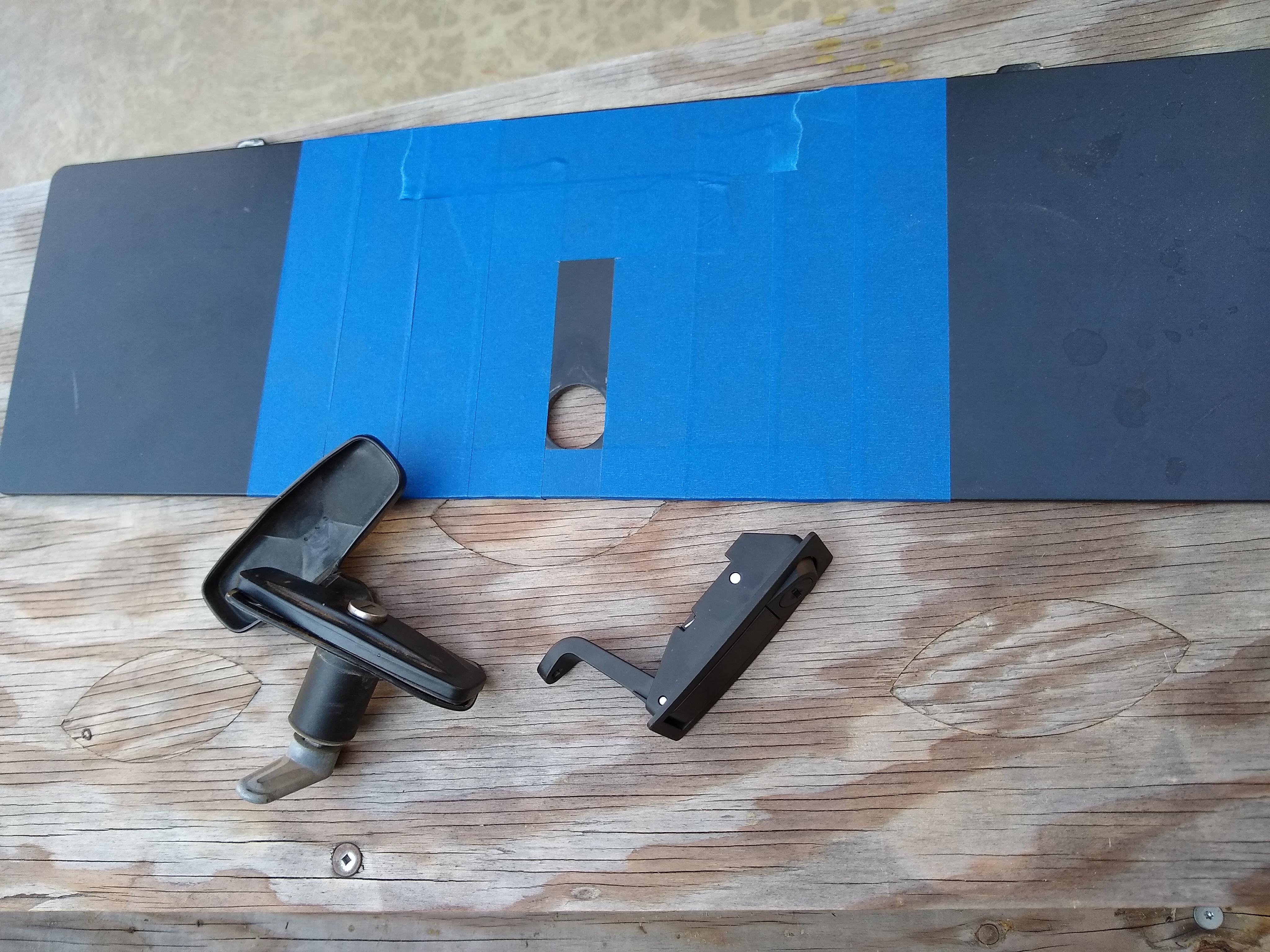 Bumper storage latch 1