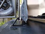 Bumper storage latch 13